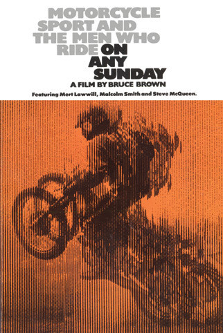 BRUCE BROWN - on any sunday Poster