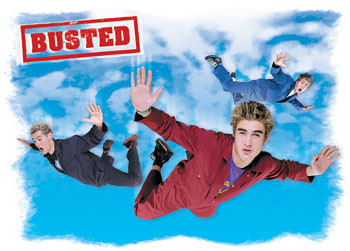 Busted - Flying Affiche