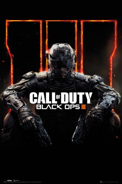 Call of Duty Black Ops 3 - Cover Panned Out Affiche