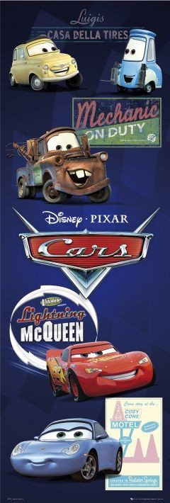 CARS - characters Affiche