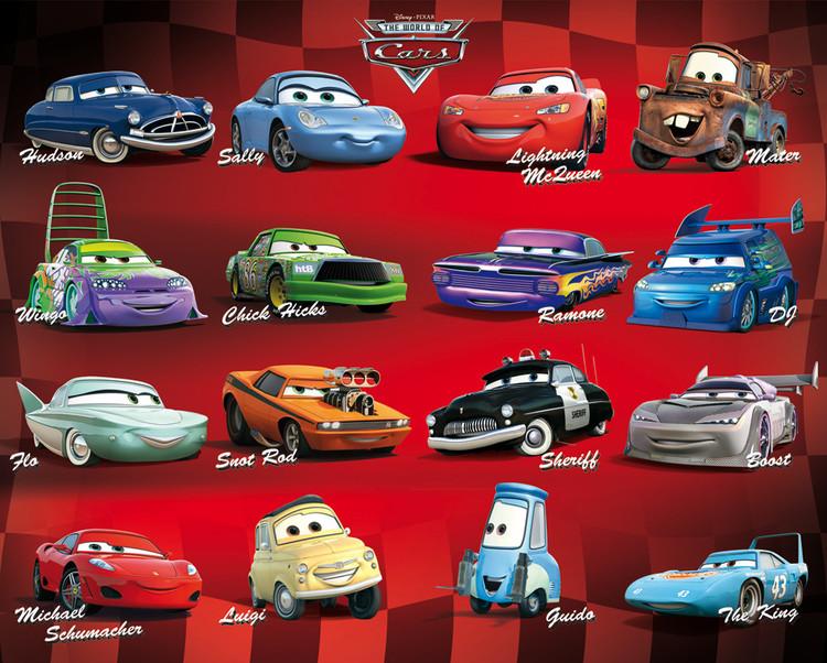 CARS - compilation Affiche