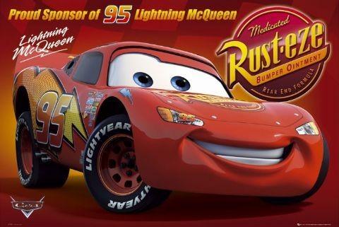 CARS - rusteze Affiche