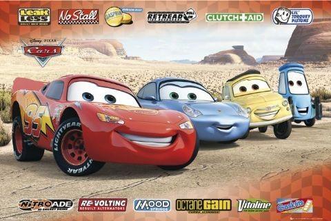CARS - sponsors Affiche
