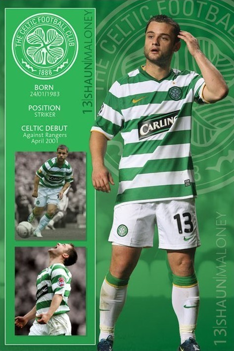 Celtic - maloney Affiche