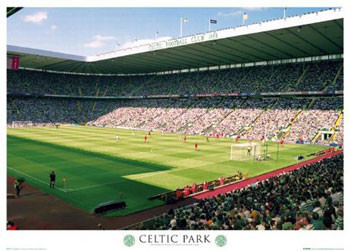 Celtic - parkhead Affiche