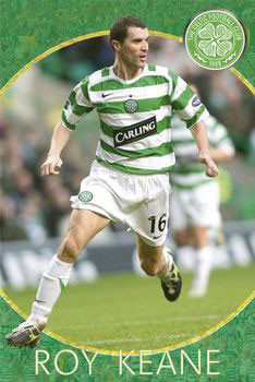 Celtic - roy keane Affiche
