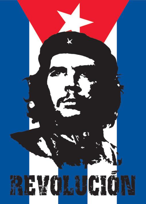 Che Guevara - flag Affiche