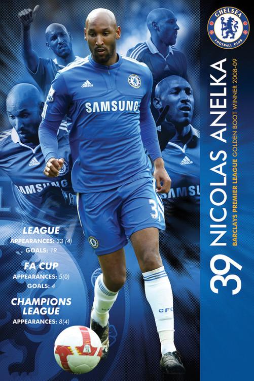 Chelsea - anelka 09/2010 Affiche