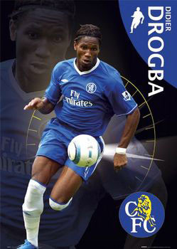 Chelsea - Drogba Affiche