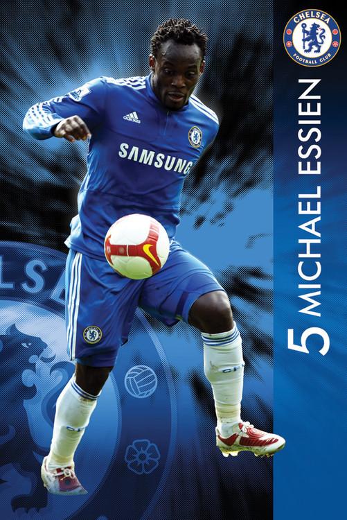 Chelsea - essien 09/10 Affiche