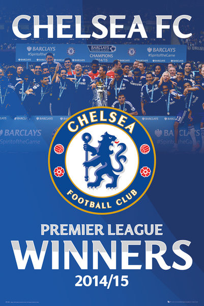 Chelsea FC - Premier League Winners 14/15 Alt Poster