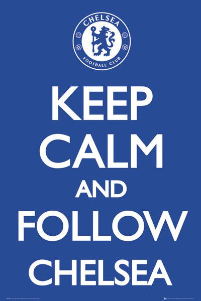 Chelsea - Keep calm Affiche