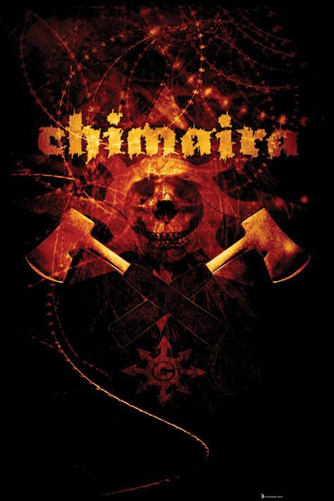 Chimaira - axe Affiche