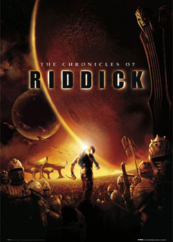 CHRONICLES OF RIDDICK - one sheet Affiche