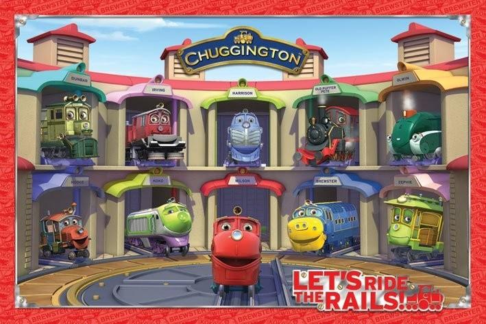 CHUGGINGTON - friends Affiche