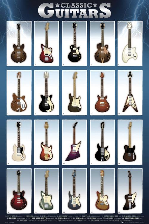 Classic guitar Affiche
