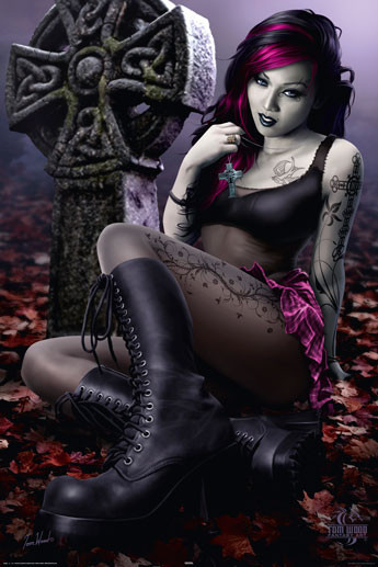 Cleo - gothic Poster