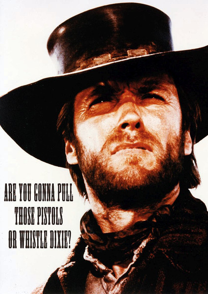 Clint Eastwood - Dixie Affiche