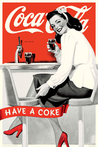 Coca Cola - have a coke Affiche
