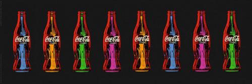 COCA COLA - popart Affiche