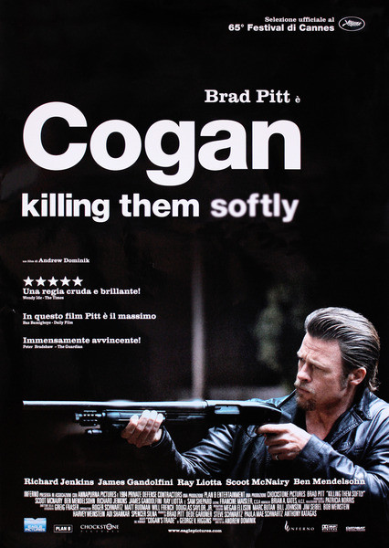 COGAN - killing them softly Affiche