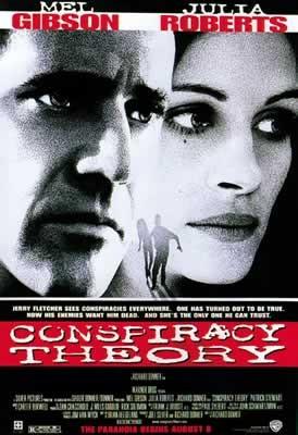 COMPLOTS - Mel Gibson, Julia Roberts Affiche