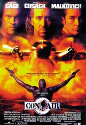 CON AIR - movie Affiche