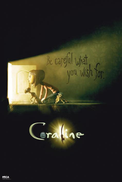 CORALINE - Teaser Affiche