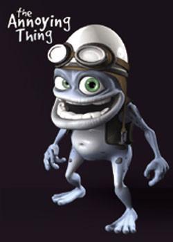 Crazy Frog - Black Poster