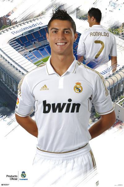 Cristiano Ronaldo - real madrid Affiche