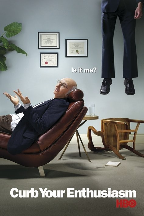 CURB YOUR ENTHUSIASM Affiche