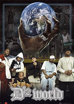 D12 - world Affiche