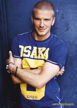 David Beckham - osaka Affiche