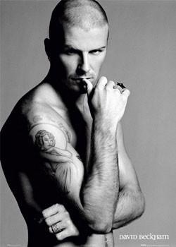 David Beckham - ring Affiche