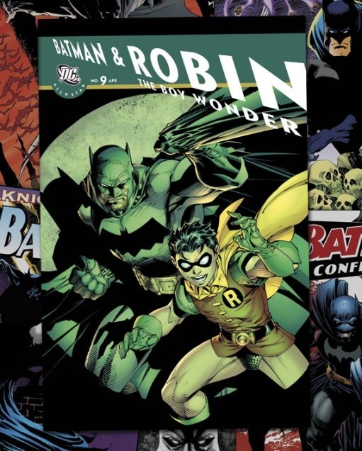 DC COMICS - batman comic covers Affiche