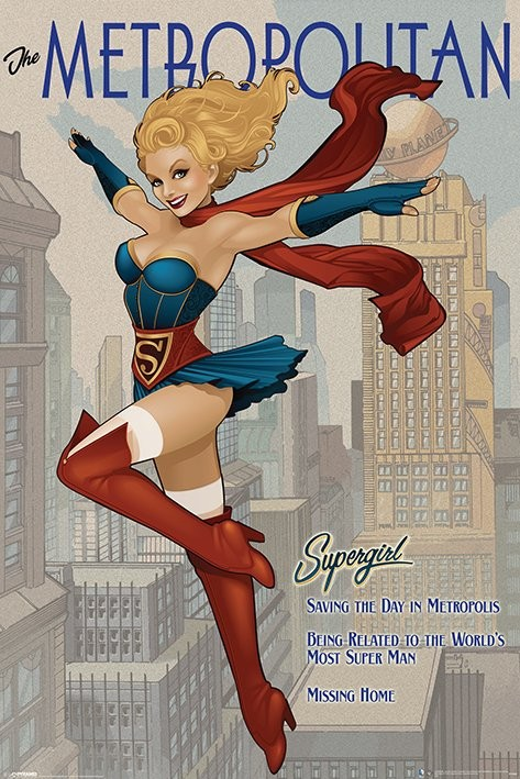 DC Supergirl - The Metropolitan Affiche