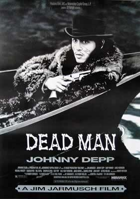 Dead man - Johnny Depp Affiche