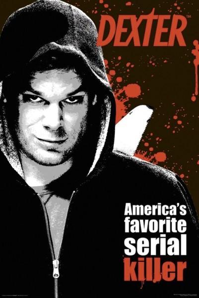 DEXTER - america's favorite serial Affiche
