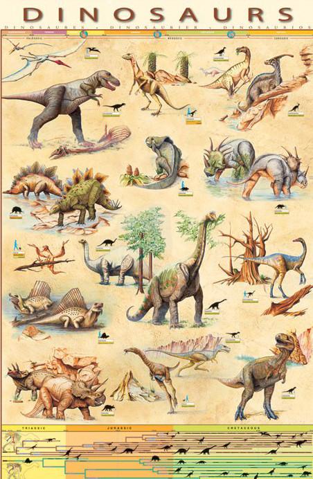 Dinosaurs Affiche