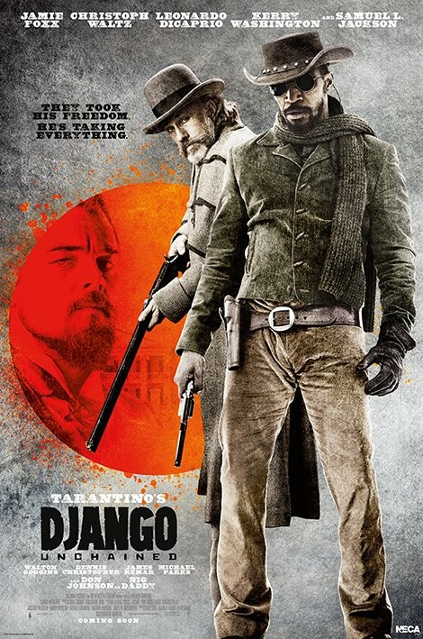 DJANGO - they look his free Affiche