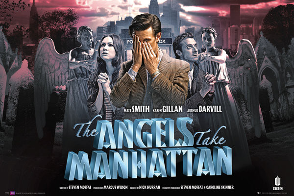 DOCTOR WHO - angels take manha Affiche