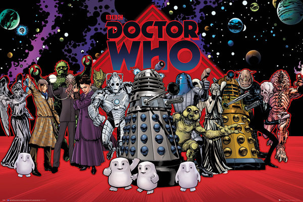 Doctor Who - Compilation Affiche
