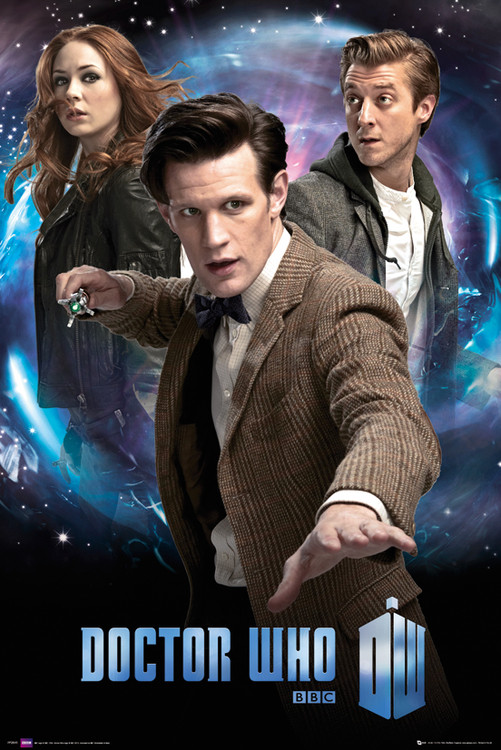 DOCTOR WHO - trio Affiche