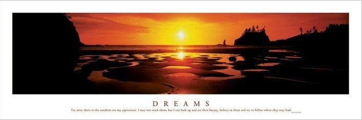 Dreams - Sunset Affiche