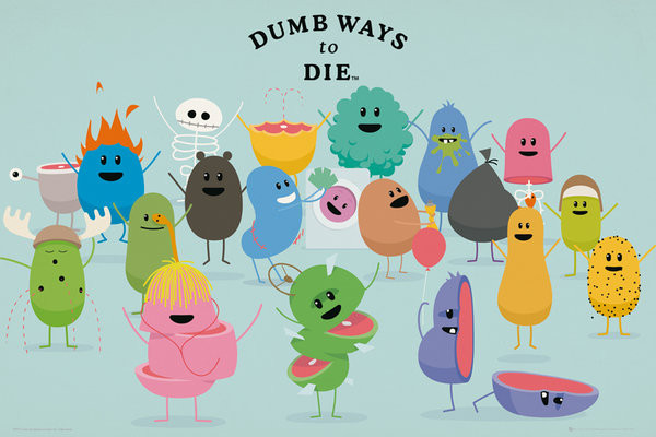 Dumb Ways to Die - Characters Affiche