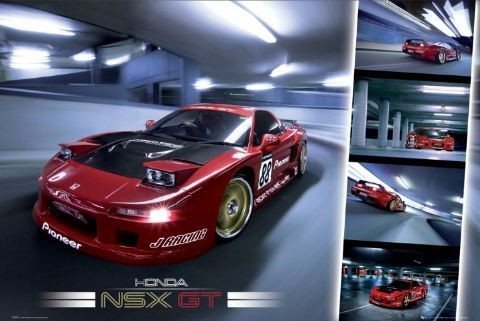 Easton - honda nsx gt Affiche