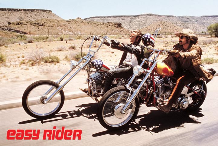 Easy rider - bikes Affiche