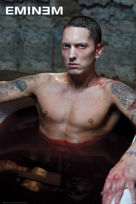 Eminem - bath Affiche