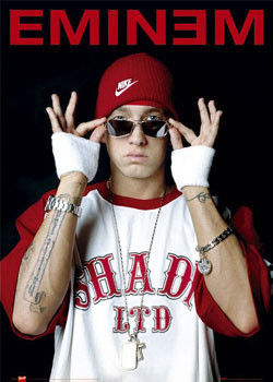 Eminem - glasses Affiche