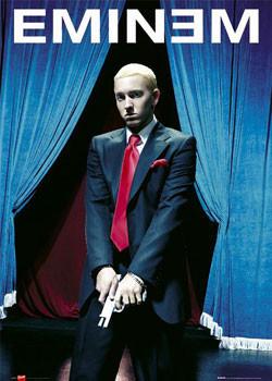 Eminem - gun Affiche